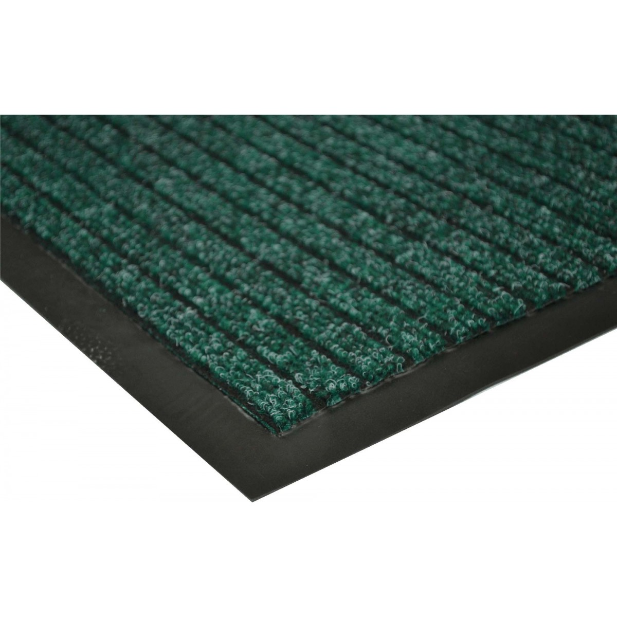 Armour Green Ribbed Floor Mat Amp Runners 6 Sizes